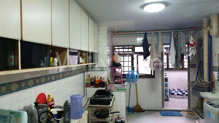 Kitchen with Utility room & common bathroom