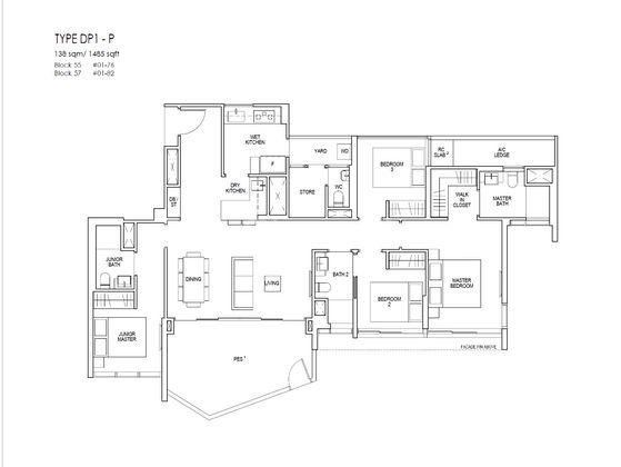 DP1p Floor Plan