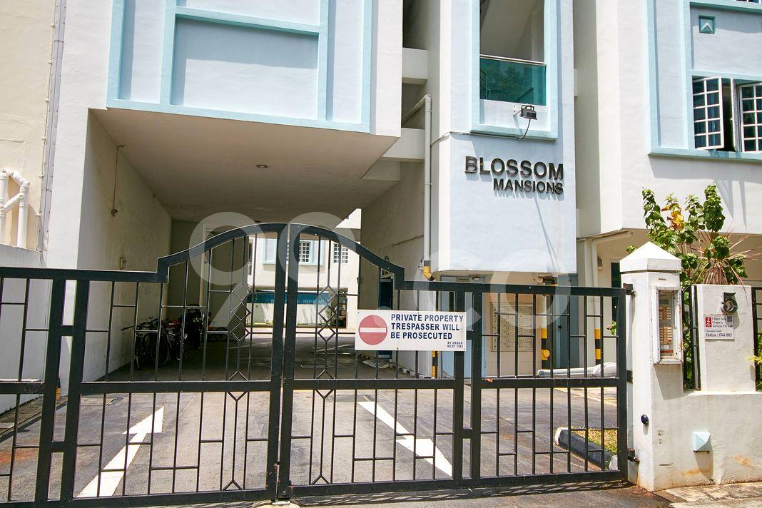 Blossom Mansions  Entrance