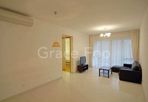 Living Area when empty