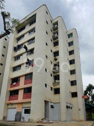 HDB-Hougang Block 126 HDB-Hougang