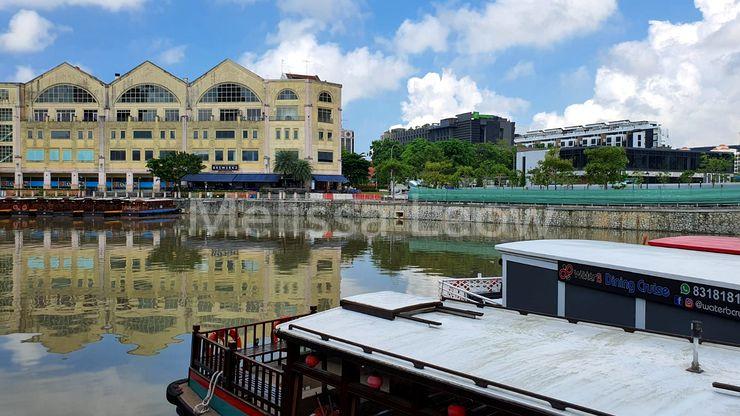 Surrounding Singapore River