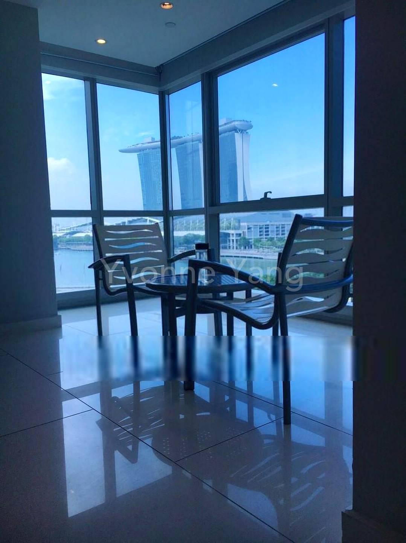 Apartment facility: A discussion corner