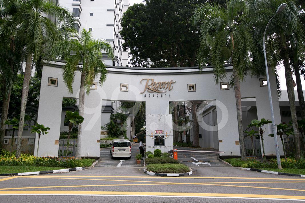 Regent Heights  Entrance