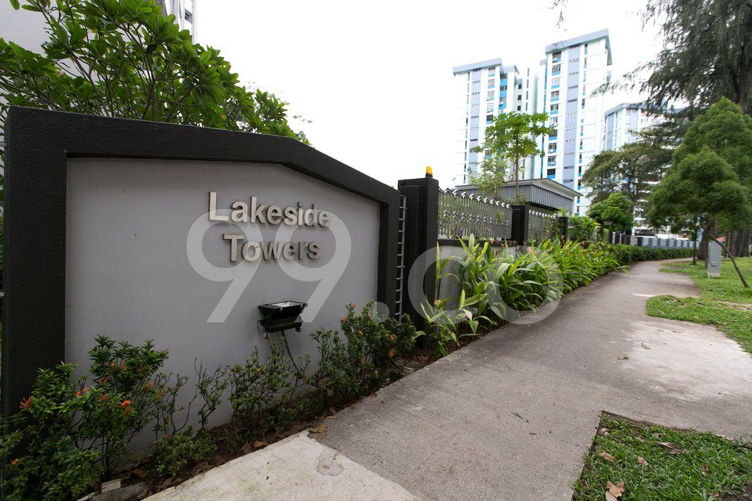 Lakeside Tower  Logo