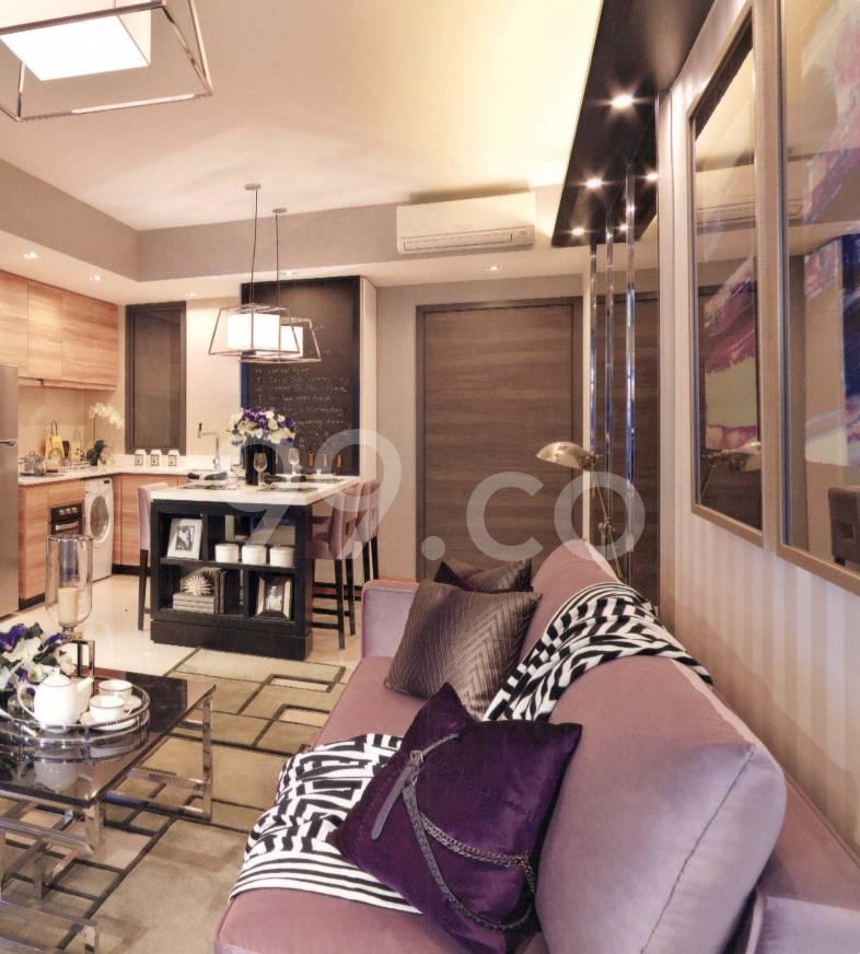The Poiz Residences Living Room