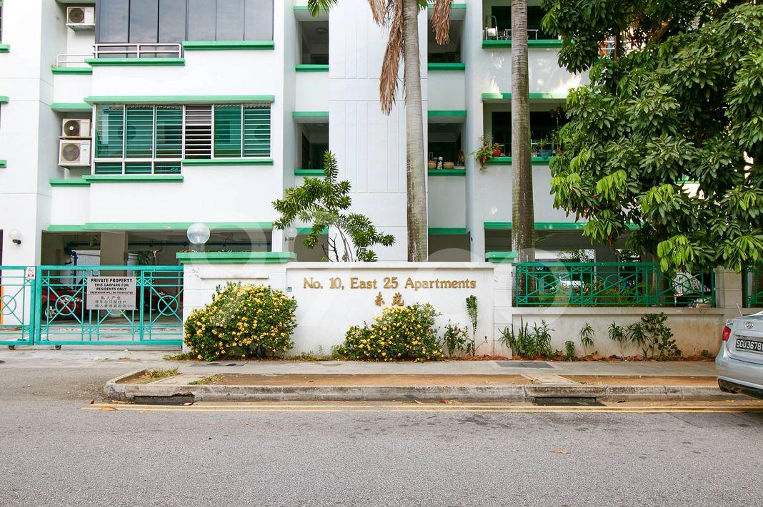 East 25 Apartments  Entrance