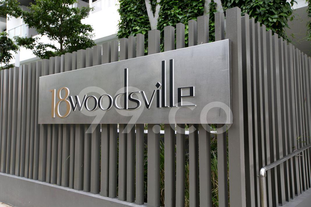 Woodsville Mansions  Logo