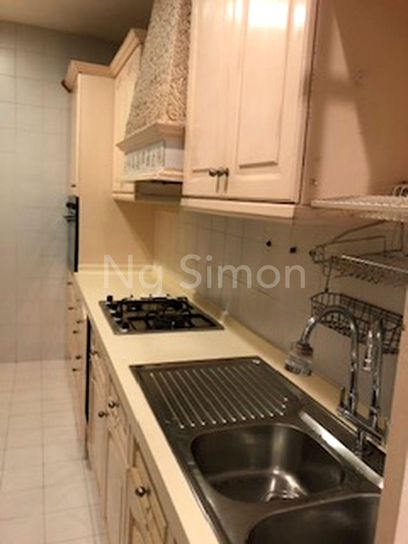 Enclosed Kitchen (II)