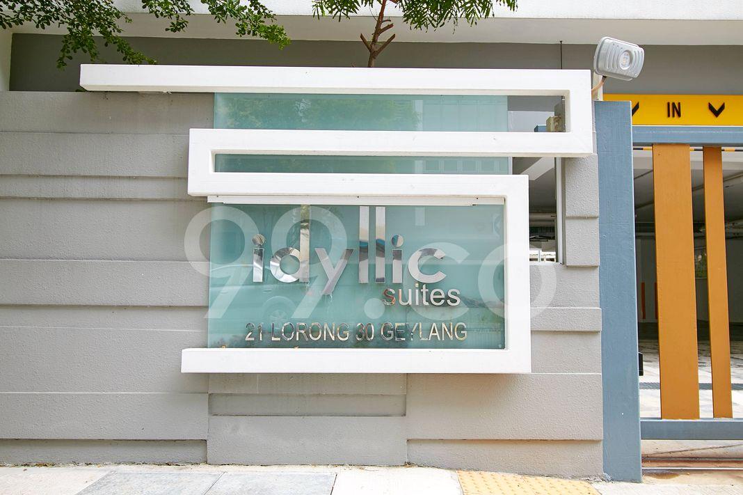 Idyllic Suites  Logo