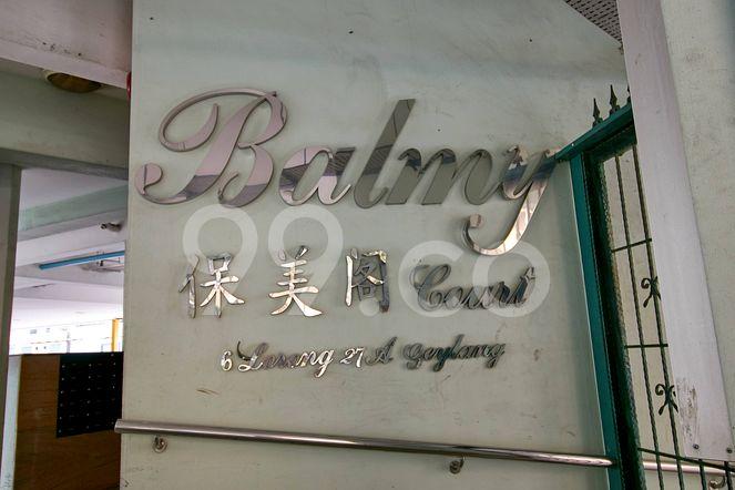 Balmy Court Balmy Court - Logo