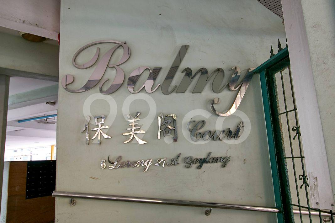 Balmy Court  Logo