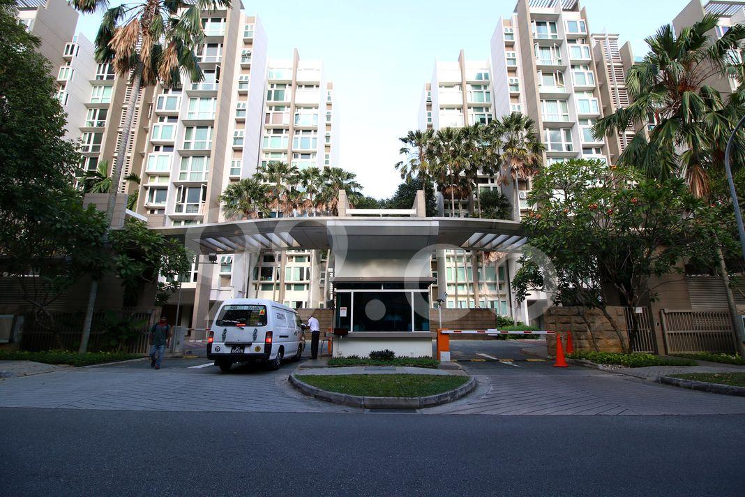 Changi Rise Condominium  Entrance