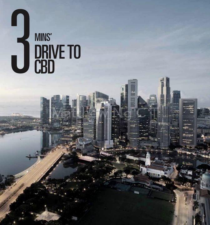 3 Mins Drive To CBD