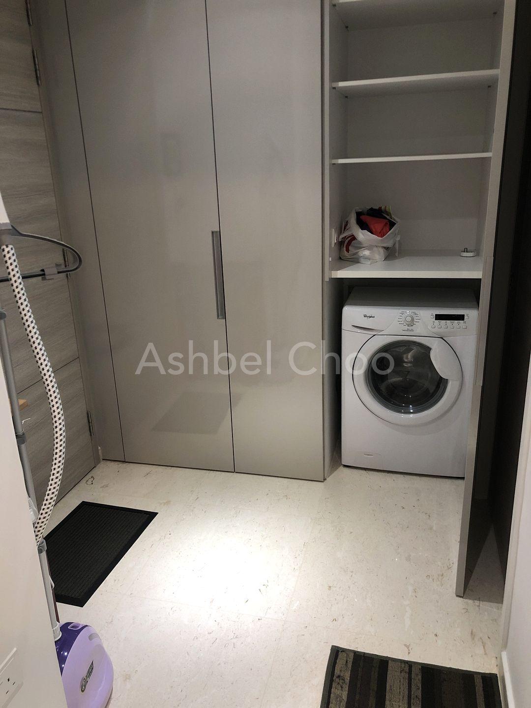 Washing machine is shared.