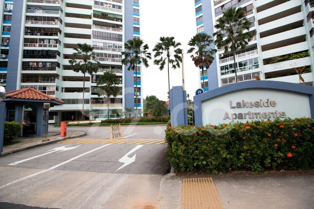 Lakeside Apartments  Entrance