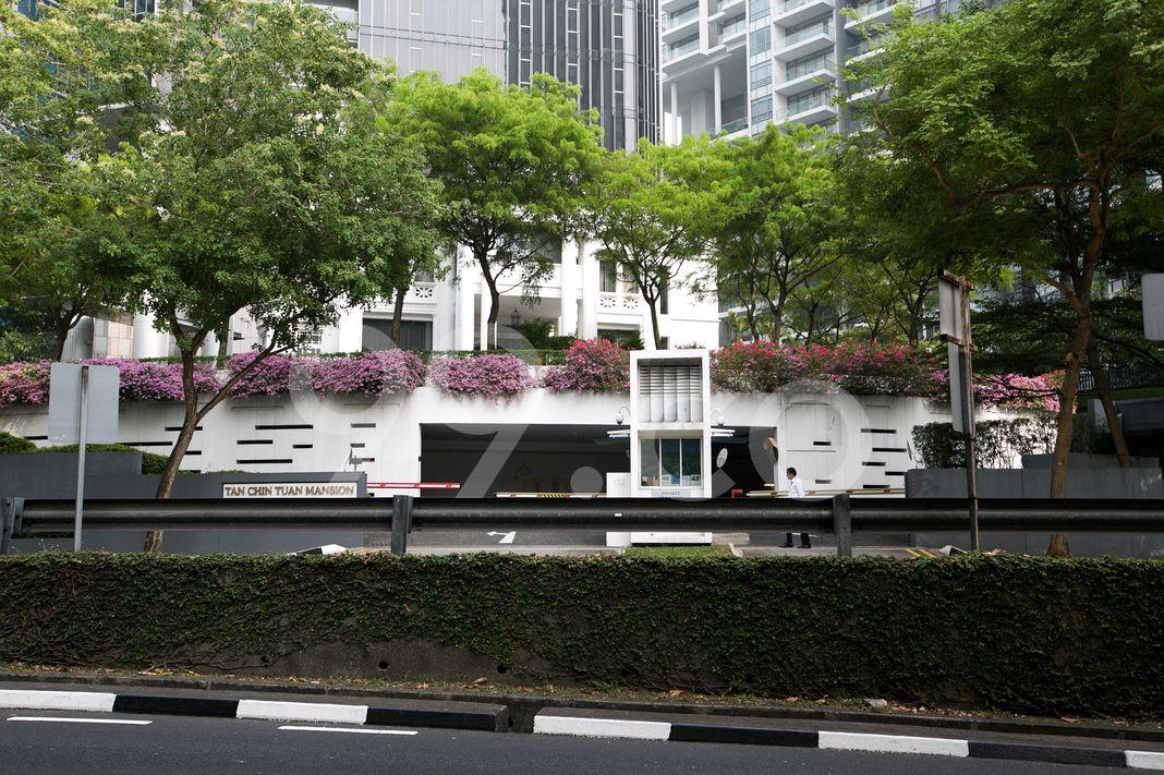 Tan Chin Tuan Mansion  Entrance