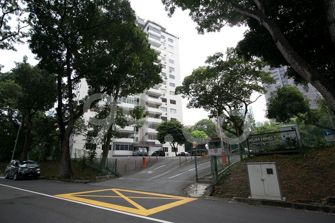 Kum Hing Court  Entrance