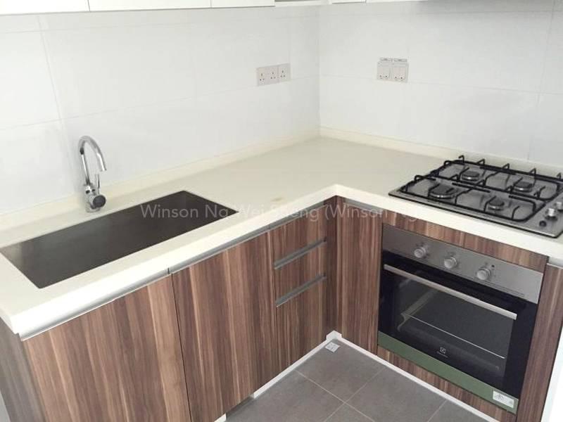 Closed concept kitchen