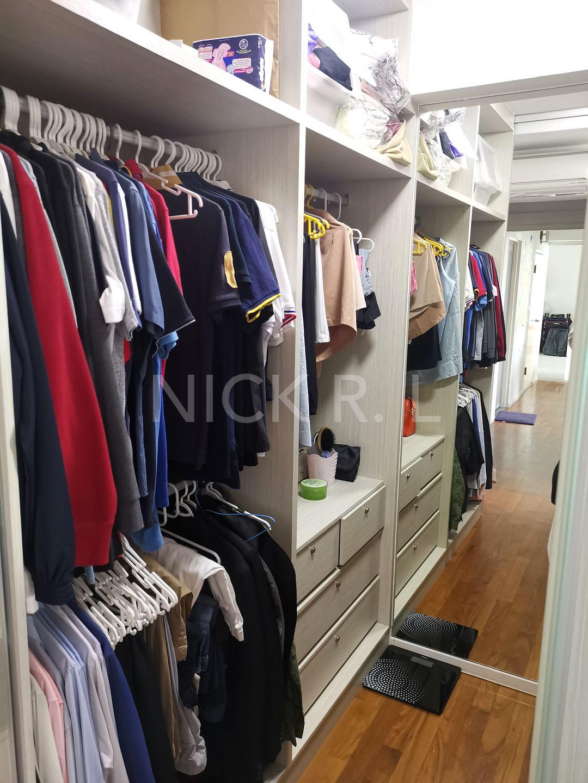 Walk - in closet