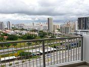 Balcony view. Unblock