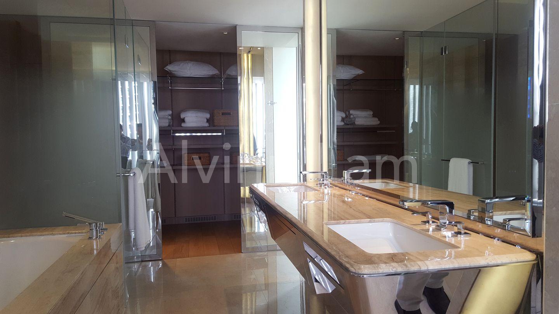 double sink in master bedroom toilet