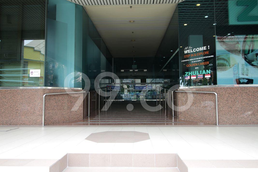 Kembangan Court  Entrance