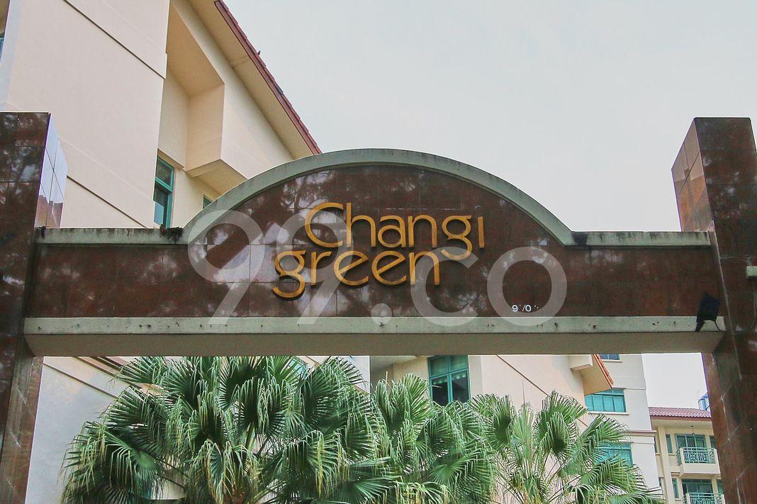 Changi Green  Logo