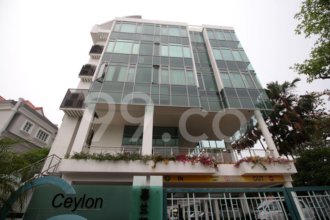 Ceylon Residence  Elevation