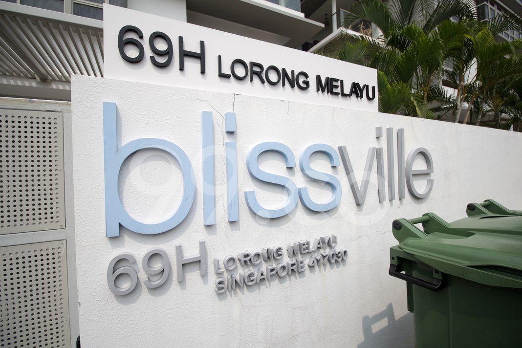 Bliss Ville  Logo