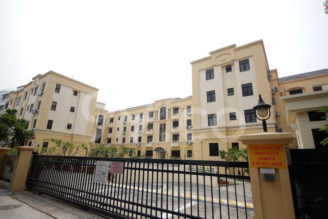 Ebony Mansions  Elevation