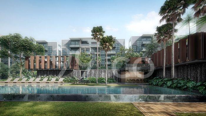 Kent Ridge Hill Residences Pool