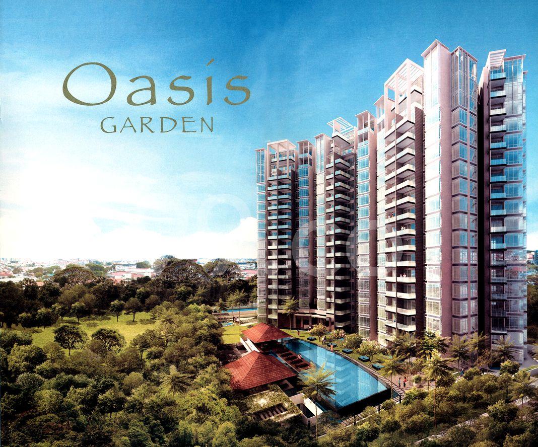 Oasis Garden  Cover