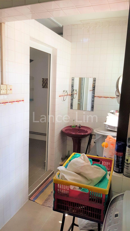 Service Yard/Common Bathroom