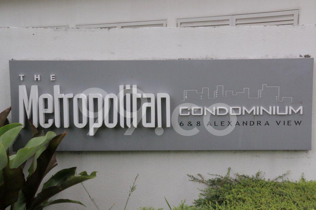 The Metropolitan Condominium  Logo