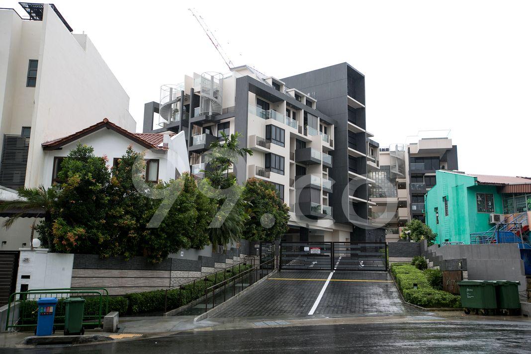 Nottinghill Suites  Elevation