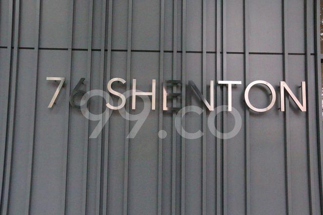 76 Shenton 76 Shenton - Logo