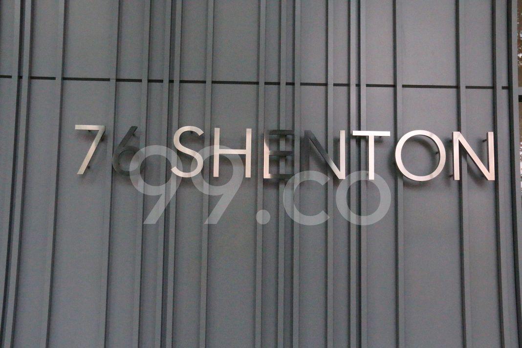 76 Shenton  Logo