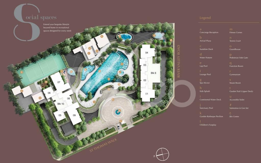 8 St Thomas site plan