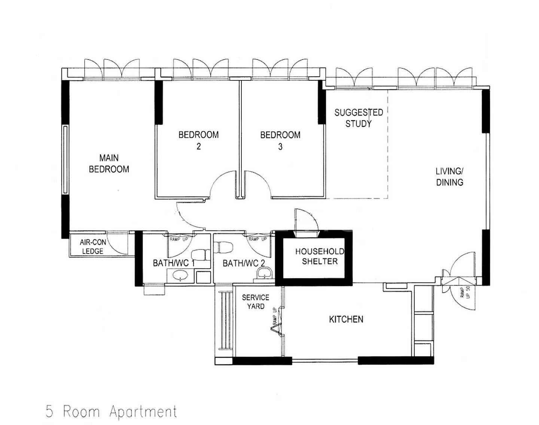 Segar Vale 546C Floor plan