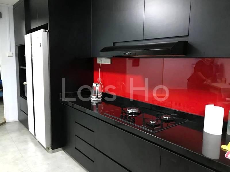 Modern renovation in kitchen