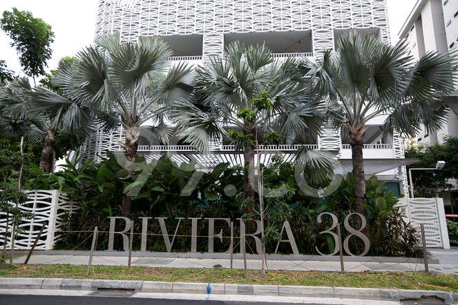 Riviera 38 Riviera 38 - Logo