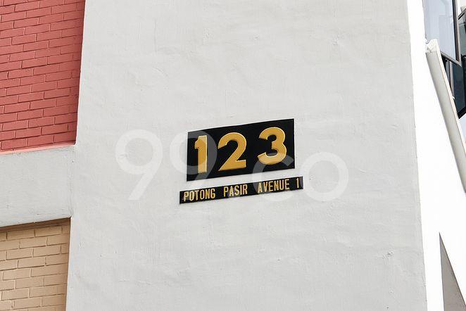 HDB-Potong Pasir Block 123 Potong Pasir