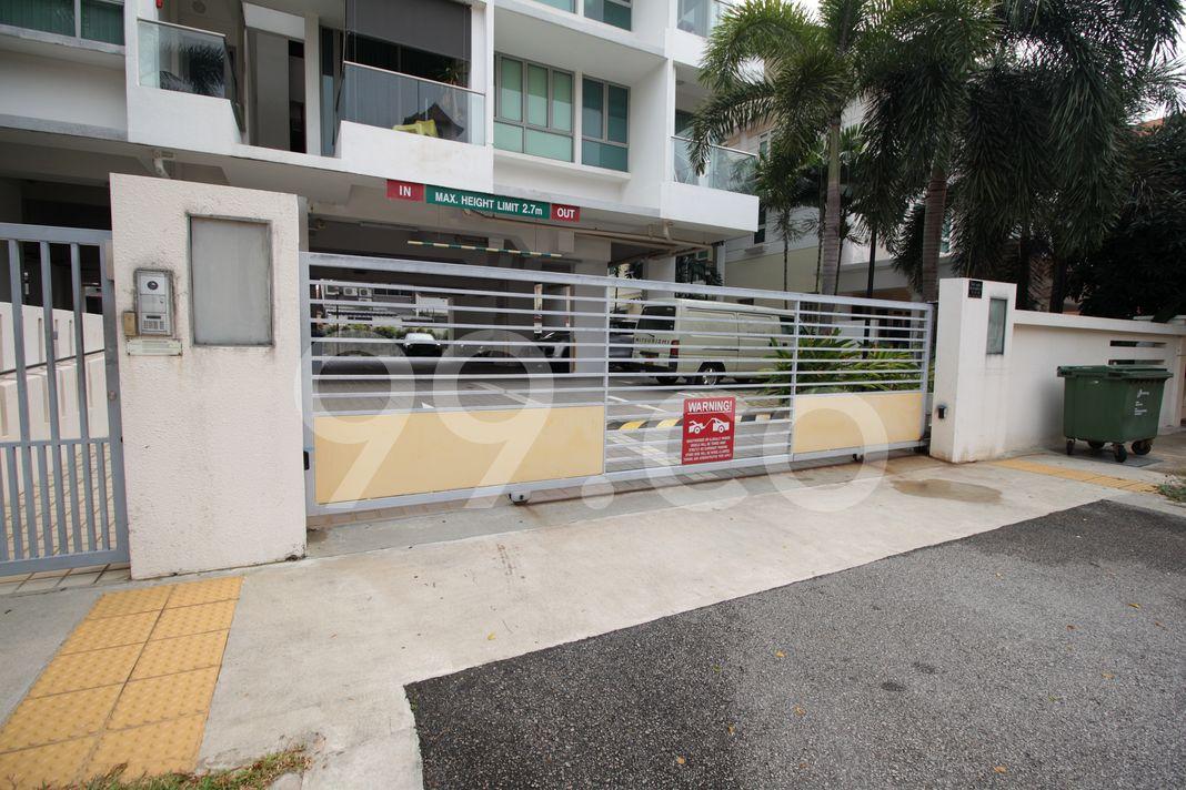 Bellezza @ Katong  Entrance