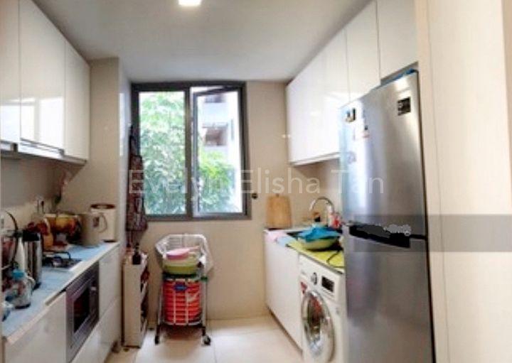 Rare Enclosed Kitchen