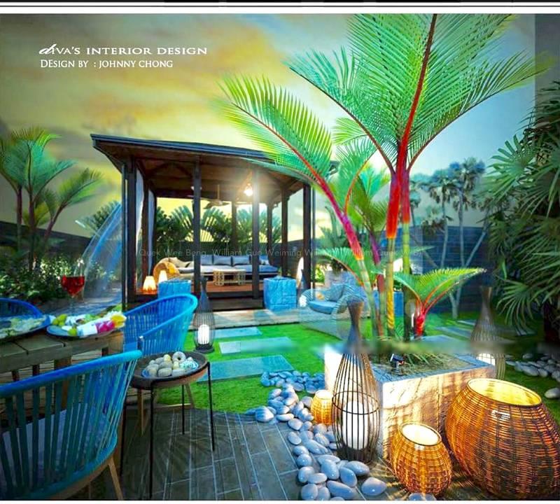 Roof Terrace - Artist Impression