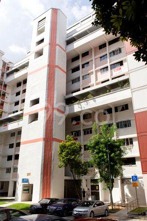 HDB-Jurong East Block 217 Jurong East