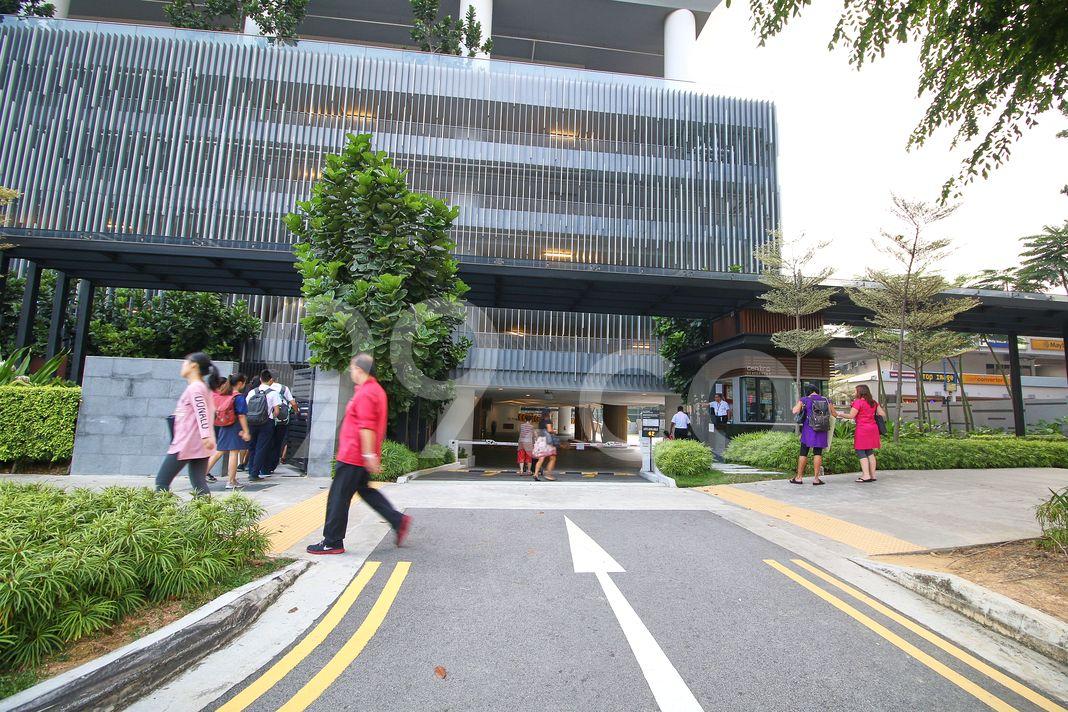 Centro Residences  Entrance