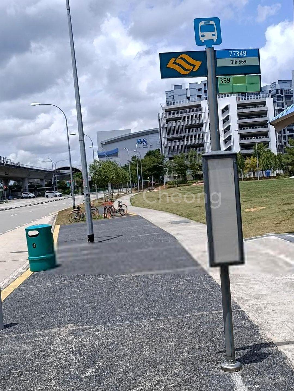 Shuttle bus service to Pasir Ris Interchange