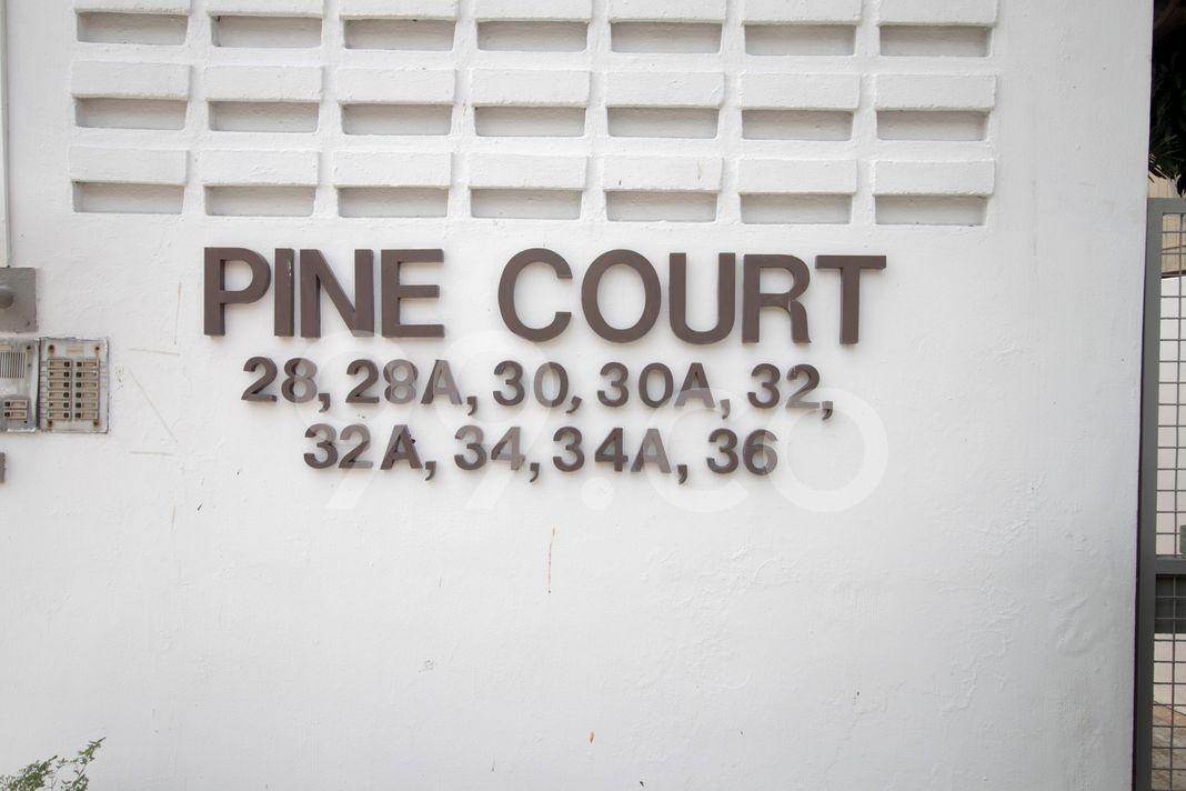 Pine Court  Logo